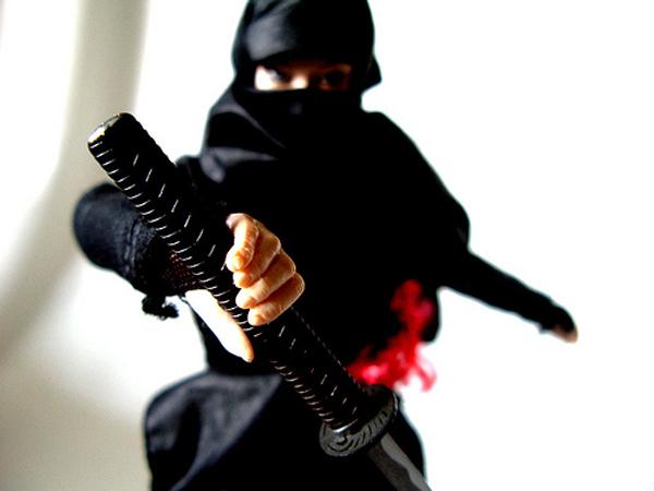 Női önvédelem – ahogy a ninják csinálják